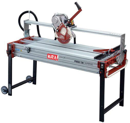 Tile cutter electric standing table raimondi 130 hire it for Scie a eau carrelage