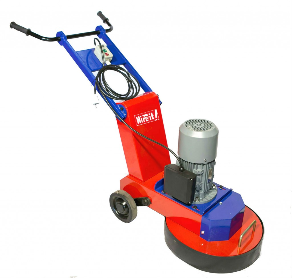 Floor grinder electric 178mm 3 disk hire it for Floor grinding machine