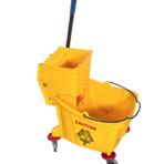 Single Bucket Wringer Trolley 32 L