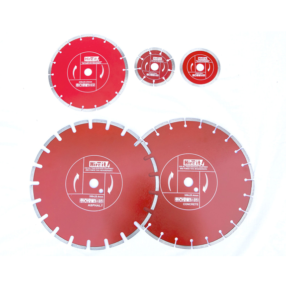 Diamond Blade Range 115mm – 350mm