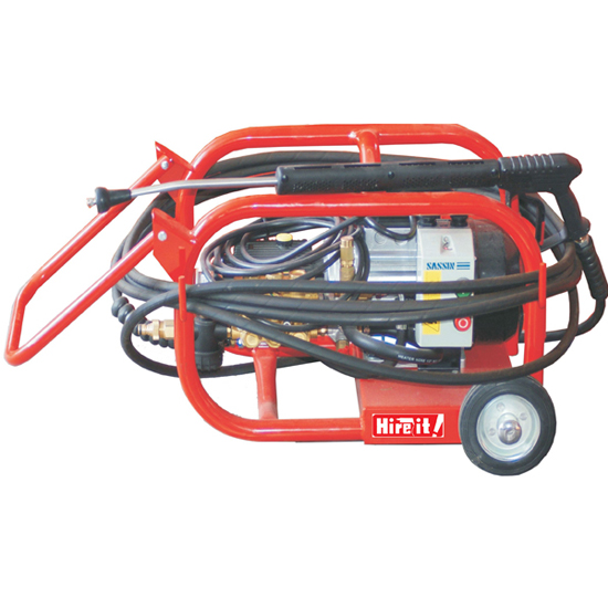 High Pressure Washer Electric incl hosepipe/lead/choice of nozzle