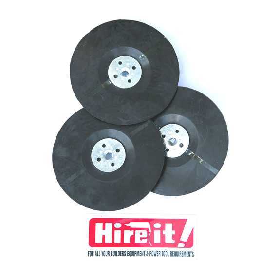 Polishing buff rubber pads