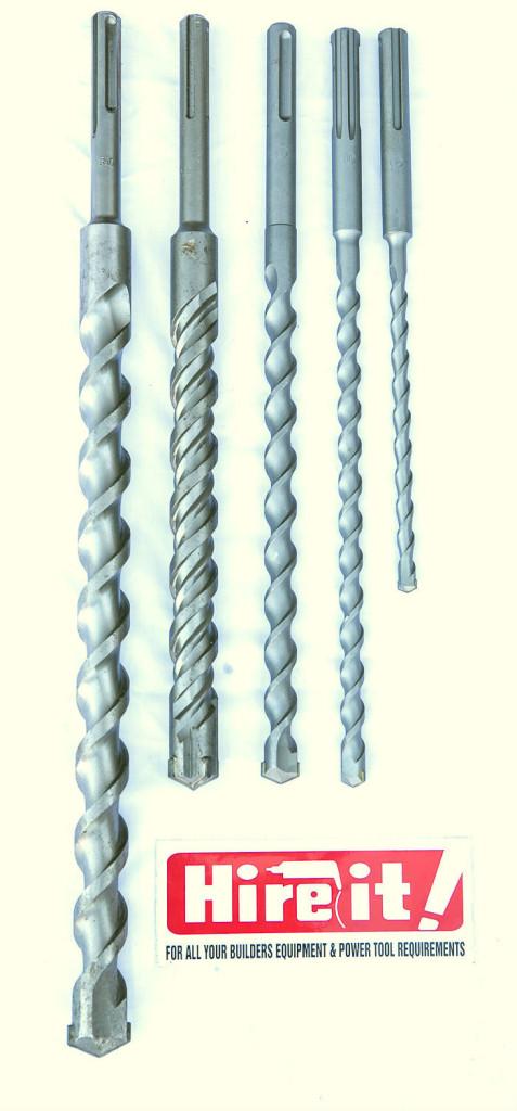 SDS Max drill bits