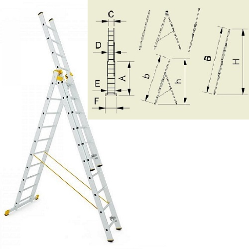Ladder Universal Step Extension ladder