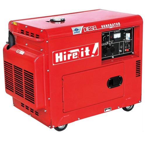 Generator 5 KVA Semi Silent Diesel
