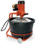 Mixer for tile adhesives, cement, grout, paint & epoxy resins
